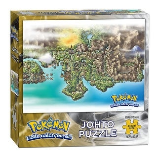 Pokemon Johto 550-Piece Puzzle - multi