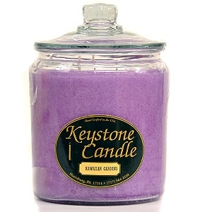 Link to 1 Pc  64 oz Hawaiian Gardens Jar Candles 5.5 in. diameter x 7.75 in. tall Similar Items in Decorative Accessories
