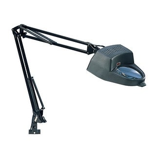 Offex Magnifying Lamp - 13W CFL Bulb Included - Black