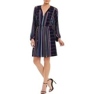 Parker Womens Casual Dress Chiffon Pattern
