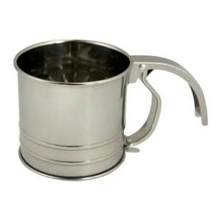 Fox Run 4652 Flour Sifter, 1-Cup, Stainless Steel