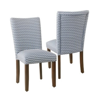 Link to HomePop Classic Parsons Dining Chair - Set of 2 Similar Items in Dining Room & Bar Furniture