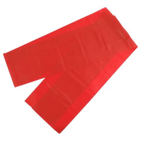 Gym Exercise Training Elastic Yoga Pilates Stretch Resistance Band Red 2M Length