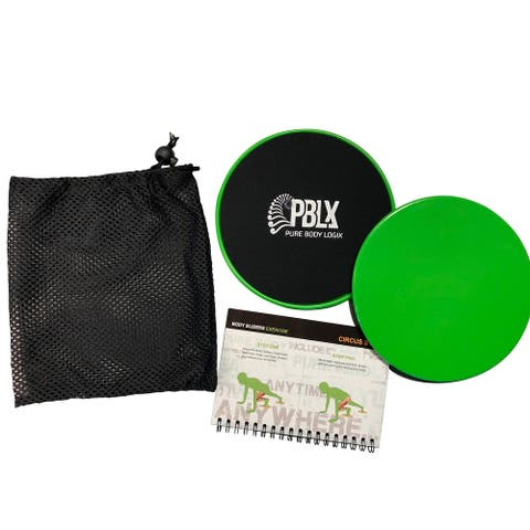 PBLX Giders With Workout Booklet (Model: 70001)