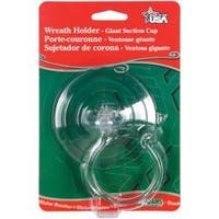 Clear - Suction Cup W/Hanger 10Lb