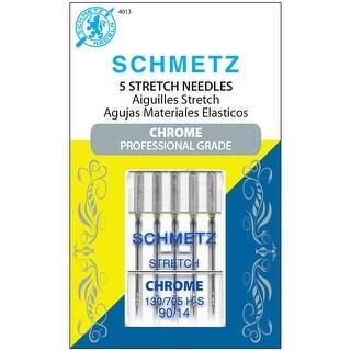 Schmetz Chrome Stretch Machine Needles-Size 90/14 5/Pkg
