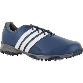 Adidas Men's Pure TRX Mineral Blue/White/Iron Metallic Golf Shoes F33411