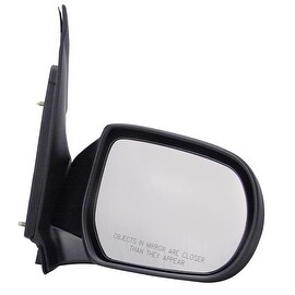 Pilot Automotive TYC 6020031 Black Passenger/ Driver Side Power Non-Heated Replacement Mirror for Mazda MPV