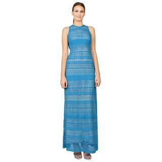 Yigal Azrouel Venice Lace Sleeveless Long Day Maxi Dress - 0