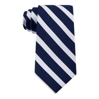 Tommy Hilfiger Mens Neck Tie Silk Striped - o/s