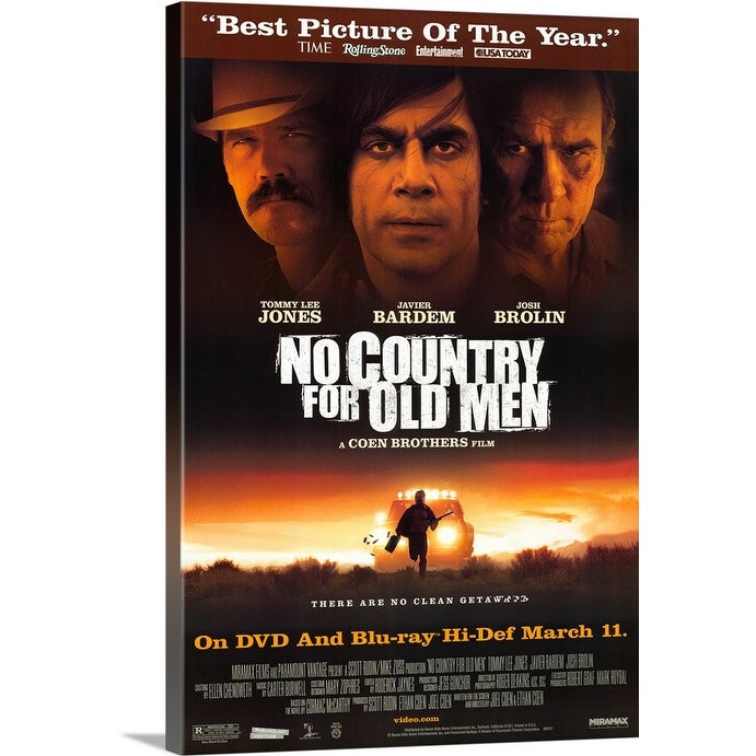 Shop No Country For Old Men 2007 Canvas Wall Art Overstock 24134206