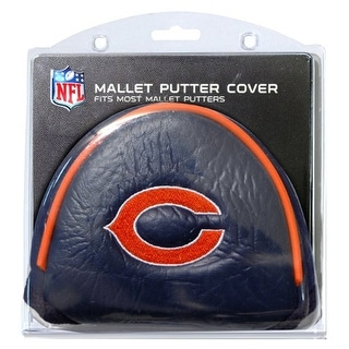 Chicago Bears NFL Putter Golf Club Mallet Cover - multi