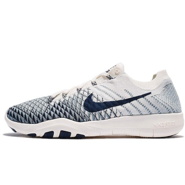 bcae6d3fad23 Nike Womens free tr flyknit 2 Fabric Low Top Lace Up Running Sneaker - 6.5