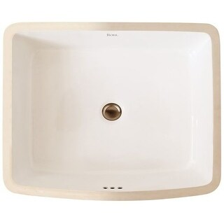"""Rohl FE2284 20-7/8"""" Undermount Bathroom Sink with Overflow"""