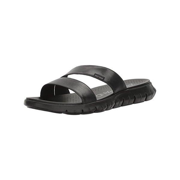 Cole Haan Womens Zerogrand Slide Sandals Leather Lightweight
