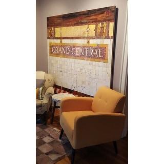 Shop Carson Carrington Keflavik Mid Century Mustard Yellow
