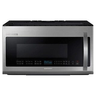 Samsung ME21H9900A 30 Inch Wide 2.1 Cu. Ft. Over-the-Range Microwave with Sensor Cook