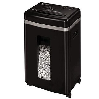 Fellowes 450M 9-Sheet Micro-Cut Paper And Credit Card Shredder With Silentshred (4074001)