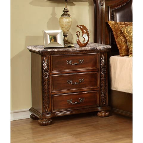 Best Master Furniture Traditional Cherry Nightstand
