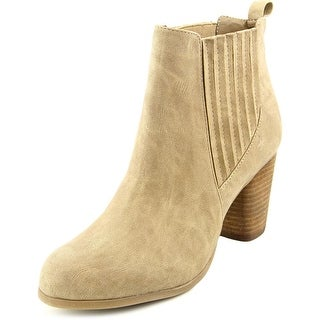 Madden Girl Dominicc Women WW Round Toe Synthetic Bootie