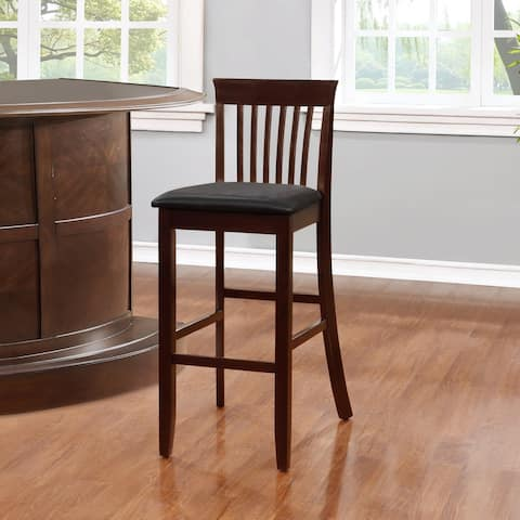 Piedmont 30.75-inch Mission Bar Stool