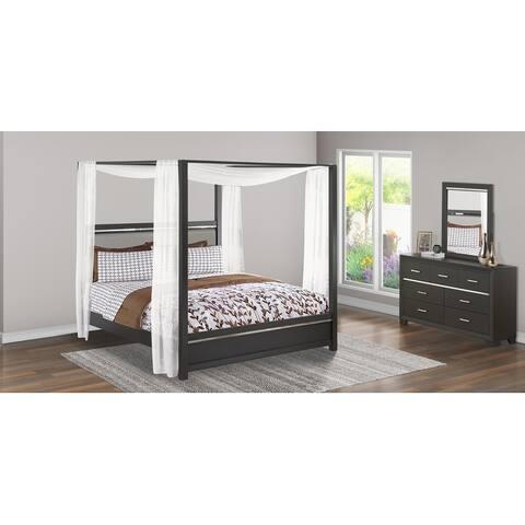EAST WEST FURNITUR Denali King Size Bedroom Set (Piece Option)