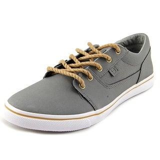 DC Shoes Tonik W XE Women Round Toe Leather Gray Skate Shoe