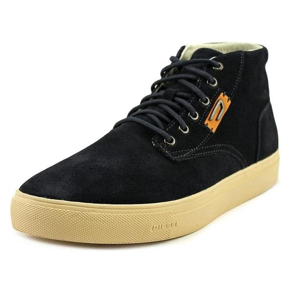 Diesel E-Laarcken Mid Men Suede Fashion Sneakers