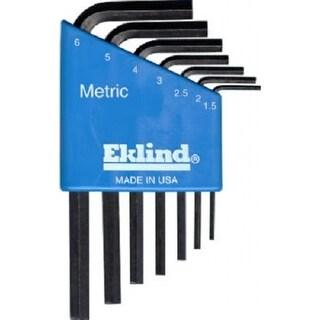 Eklind 10507 Metric Short Arm Hex-L Key Set, 7-Piece