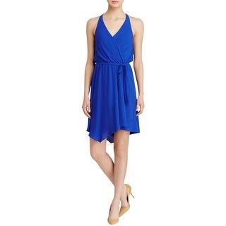 Aqua Womens Casual Dress Sleeveless Knee-Length