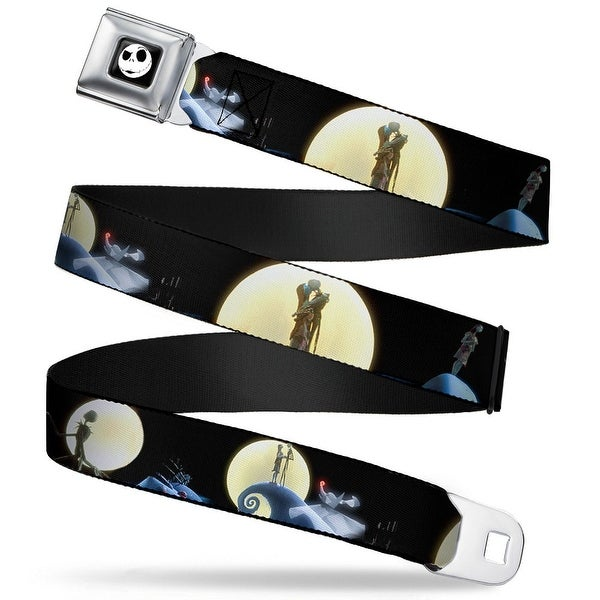 Jack Expression2 Full Color Nightmare Before Christmas Jack & Sally Moon Seatbelt Belt
