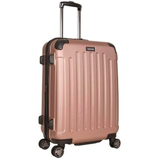 Kenneth Cole Reaction 'Renegade' 24in Lightweight Hardside ABS Expandable 8-Wheel Spinner Checked Suitcase - Multiple Colors