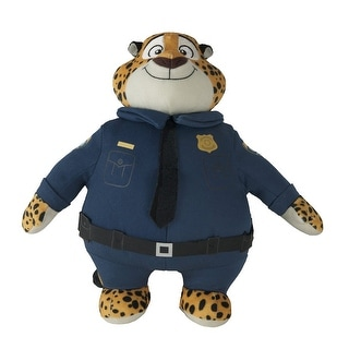 "Disney Zootopia 10"" Plush Officer Clawhauser"