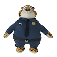 "Disney Zootopia 10"" Plush Officer Clawhauser - multi"