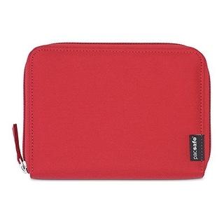 Pacsafe RFIDsafe LX150 - Chili RFID Blocking Zippered Passport Wallet
