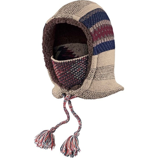 Legendary Whitetails Women's Americana Knit 3-In-1 Hooded Neck Warmer - americana red - One size
