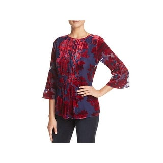 Elie Tahari Womens Orion Blouse Day to Night Dressy
