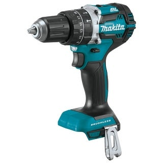 """Makita 18V LXT Lithium-Ion Compact Brushless 1/2"""" Hammer Driver-Drill (Tool) - teal"""