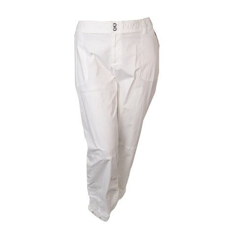 INC International Concepts Women's Ruched Zip-pocket Pants