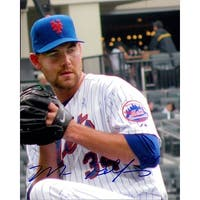 Signed Pelfrey Mike New York Mets 8x10 Photo autographed