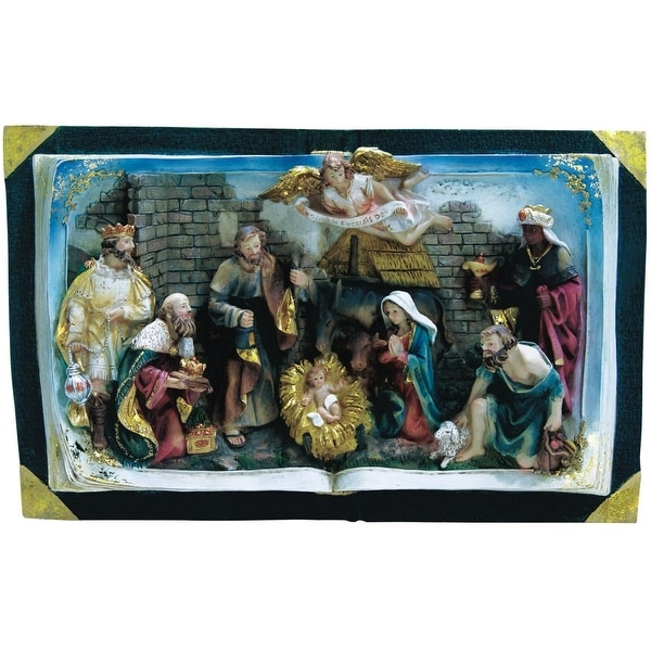 Alpine GXT846 Nativity Bible, Multicolored, 10""