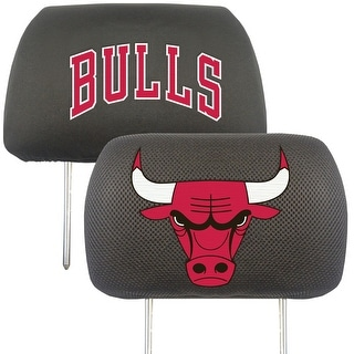 "NBA - Chicago Bulls Head Rest Cover 10""x13"""