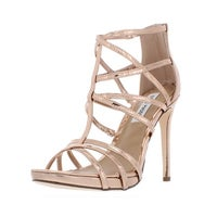 2e6e145e043d Shop Steve Madden Womens Whitney Strappy Sandals Metallic Stars ...