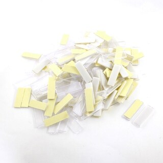 Unique Bargains 100Pcs 17x55mm Self-adhesive Power Distributor Case Switch Indicator Label Stick