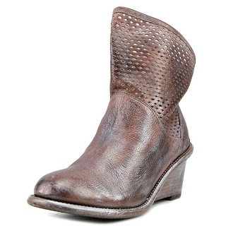 Bed Stu Dutchess   Round Toe Leather  Ankle Boot