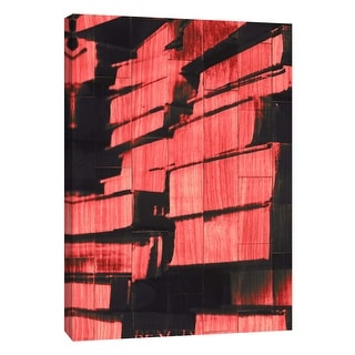 "PTM Images 9-108884  PTM Canvas Collection 10"" x 8"" - ""New Book - Red"" Giclee Books Art Print on Canvas"