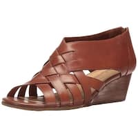 Bella Vita Womens Isabelle Leather Open Toe Casual Platform Sandals