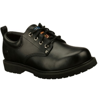 Skechers 77019 BLK Men's COTTONWOOD - FRIBBLE SR Work WIDE