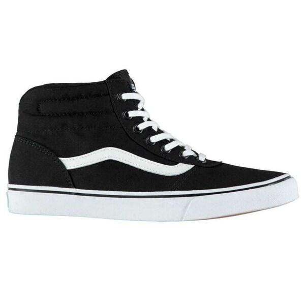 c2580ea51a Shop Vans Womens Milton Hi Fabric Hight Top Lace Up Fashion Sneakers ...