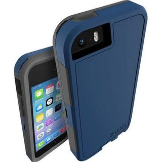 Zagg IP5ARS-BL0 Invisible Shield Arsenal Case for iPhone 5 & 5S - Blue